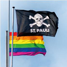 Hamburg Postkarten Set: St. Pauli LOVE